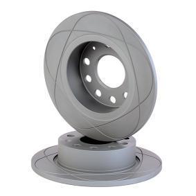 510277 ATE PowerDisc Voll, beschichtet, mit Schrauben Ø: 253,0mm, Lochanzahl: 5, Bremsscheibendicke: 10,0mm Bremsscheibe 24.0310-0277.1 günstig kaufen
