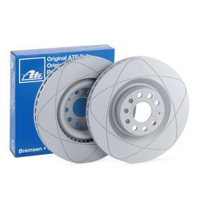 530115 ATE PowerDisc belüftet, beschichtet, hochgekohlt Ø: 345,0mm, Lochanzahl: 5, Bremsscheibendicke: 30,0mm Bremsscheibe 24.0330-0115.1 günstig kaufen