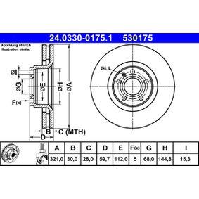 24.0330-0175.1 Bremsscheibe ATE Test