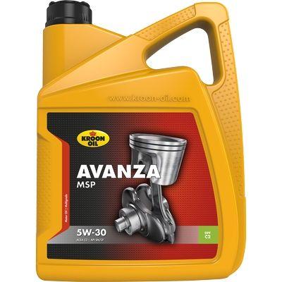 Comprare 33496 KROON OIL AVANZA, MSP 5W-30, 5l, Olio parzialmente sintetico Olio motore 33496 poco costoso