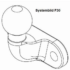 340124900113 WESTFALIA Anhängebock, Anhängevorrichtung 340124900113 günstig kaufen