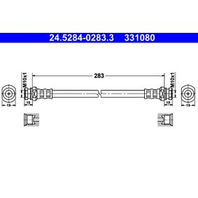 Koop en vervang Remslang ATE 24.5284-0283.3