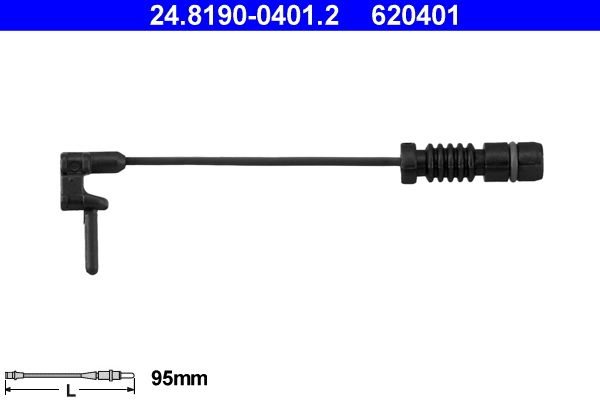 24.8190-0401.2 Brake Wear Sensor ATE - Experience and discount prices