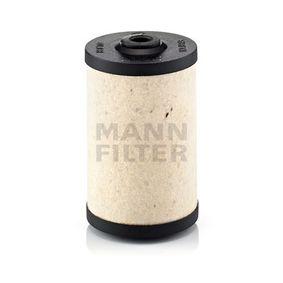 BFU700x Brændstoffilter MANN-FILTER - Køb til discount priser