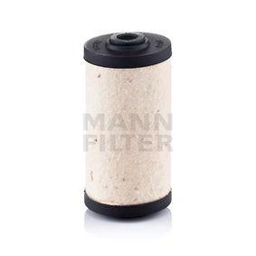 BFU707 Bränslefilter MANN-FILTER - Upplev rabatterade priser