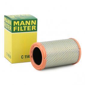 C 1145/6 MANN-FILTER Höhe: 180mm Luftfilter C 1145/6 günstig kaufen