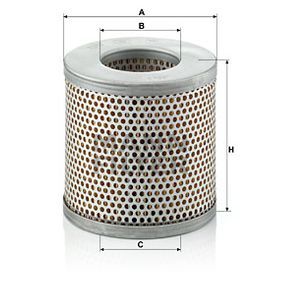 Ostaa MANN-FILTER Korkeus: 125mm Ilmansuodatin C 1337 edullisesti