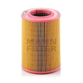 C 1380/1 MANN-FILTER Altura: 173mm Filtro de aire C 1380/1 a buen precio