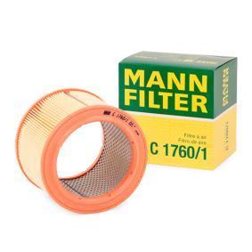 Vzduchový filtr C 1760/1 pro CITROËN C15 ve slevě – kupujte ihned!