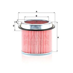 Vzduchový filter C 1891 MITSUBISHI SANTAMO v zľave – kupujte hneď!