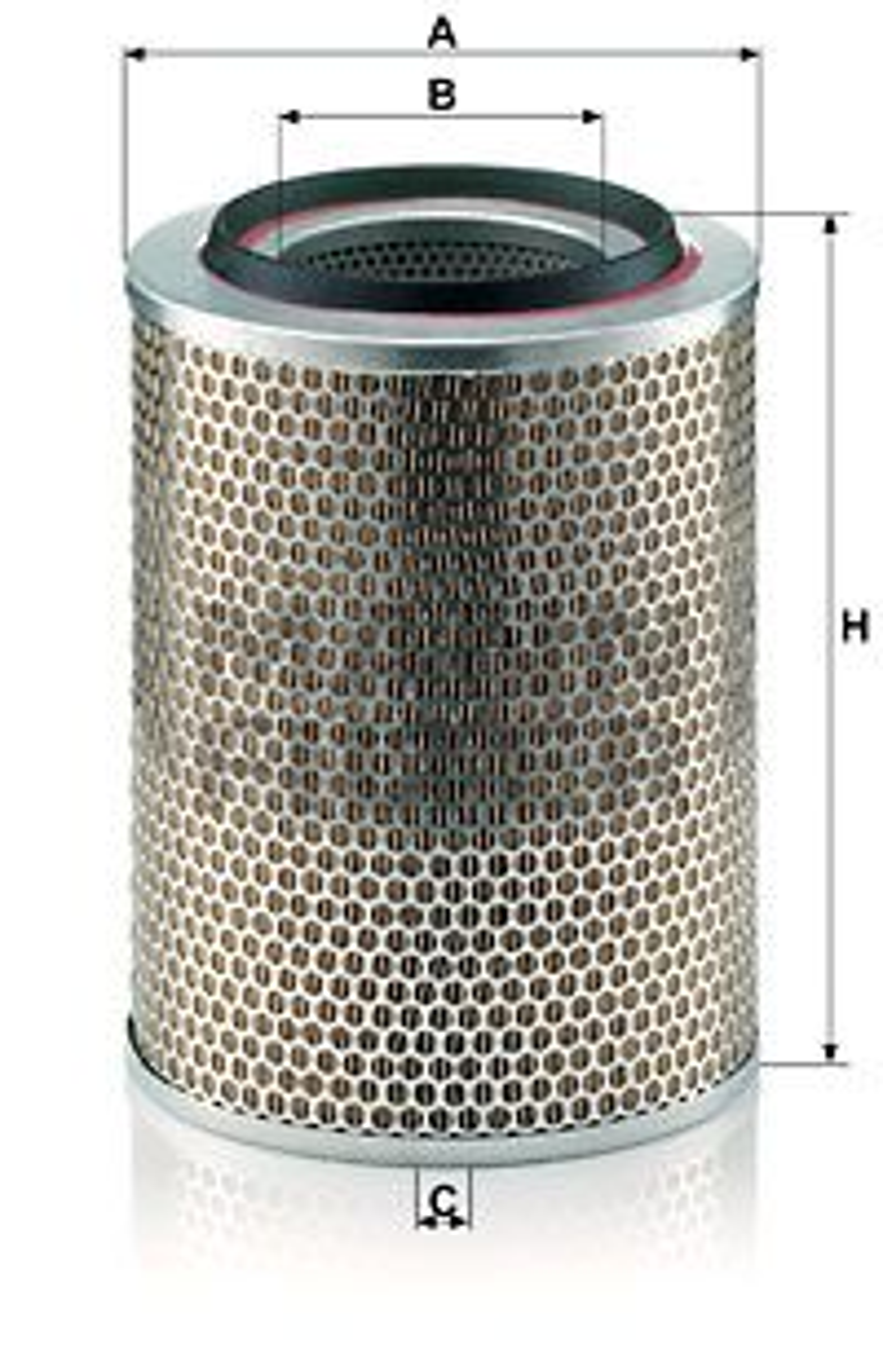 MANN-FILTER Filtr powietrza do IVECO - numer produktu: C 23 440/2