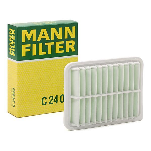 Zracni filter C 24 005 z izjemnim razmerjem med MANN-FILTER ceno in zmogljivostjo