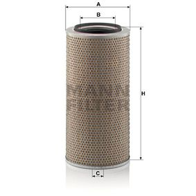 Buy MANN-FILTER Air Filter C 24 650/1 for IVECO at a moderate price