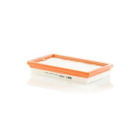 Vzduchový filtr C 2420 pro NISSAN TIIDA ve slevě – kupujte ihned!