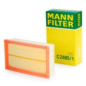 Filtro aria C 2485/1 RENAULT CLIO III (BR0/1, CR0/1) — ricevi il tuo sconto ora!