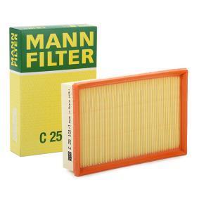 Original MANN-FILTER Luftfilter C 25 109 F/ür PKW
