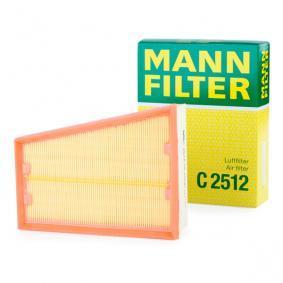 ORIGINALE MANN-FILTER FILTRO ARIA ELEMENTO RENAULT C 2512