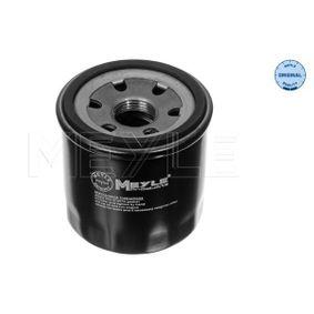 MOF0149 MEYLE Anschraubfilter, mit einem Rücklaufsperrventil, MEYLE-ORIGINAL Quality Ø: 65,6mm, Höhe: 65,5mm Ölfilter 35-14 322 0000 günstig kaufen
