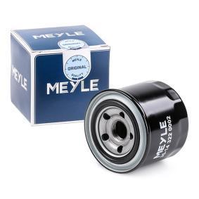 MOF0151 MEYLE Hauptstromfiltration, Anschraubfilter, mit einem Rücklaufsperrventil, MEYLE-ORIGINAL Quality Ø: 83mm, Höhe: 76,1mm, Höhe 1: 74mm Ölfilter 35-14 322 0002 günstig kaufen
