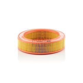 C 2555/2 MANN-FILTER Höhe: 63mm Luftfilter C 2555/2 günstig kaufen