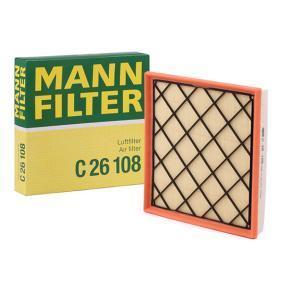 Mann C26108 OE Replacement Air Filter Vauxhall Astra GTC Zafira