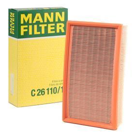 Günstige Luftfilter mit Artikelnummer: C 26 110/1 BMW 8 (E31) jetzt bestellen