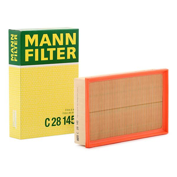 Zracni filter C 28 145 z izjemnim razmerjem med MANN-FILTER ceno in zmogljivostjo