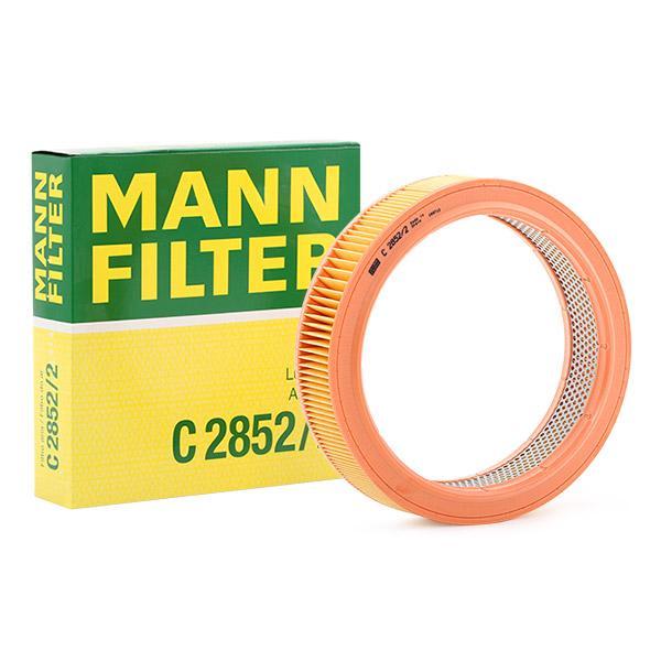 MANN-FILTER: Original Motorluftfilter C 2852/2 (Höhe: 62mm)