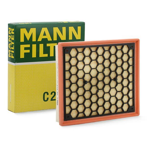 MANN-FILTER: Original Luftfilter C 29 012 (Länge: 290mm, Länge: 290mm, Breite: 258mm, Höhe: 53mm)