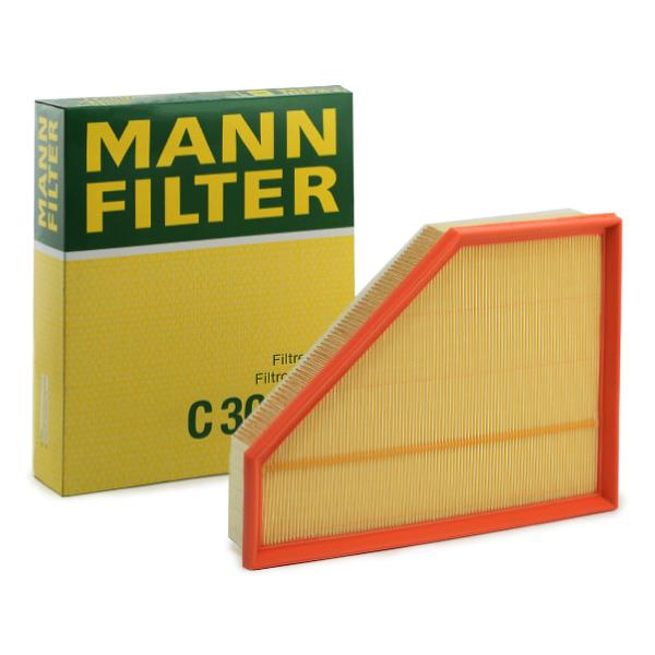 MANN-FILTER: Original Motorluftfilter C 30 135 (Länge: 143mm, Länge: 299mm, Breite: 234mm, Breite 1: 82mm, Höhe: 60mm)