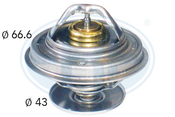 350125 ERA Öffnungstemperatur: 79°C, mit Dichtung Thermostat, Kühlmittel 350125 günstig kaufen
