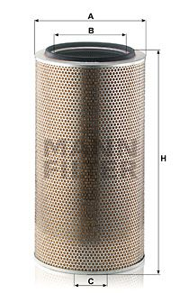 MANN-FILTER Air Filter for IVECO - item number: C 33 920/3