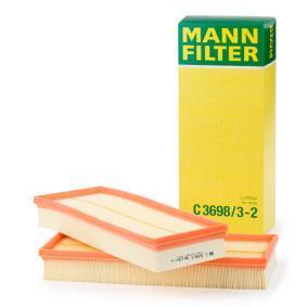 Filtro aria C 3698/3-2 per PEUGEOT BOXER a prezzo basso — acquista ora!