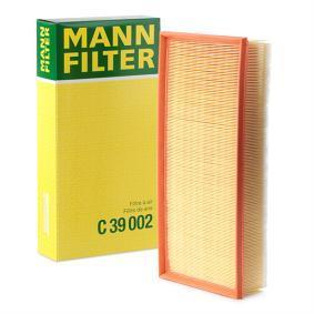 ORIGINALE MANN-FILTER FILTRO ARIA ELEMENTO AUDI C 27 187