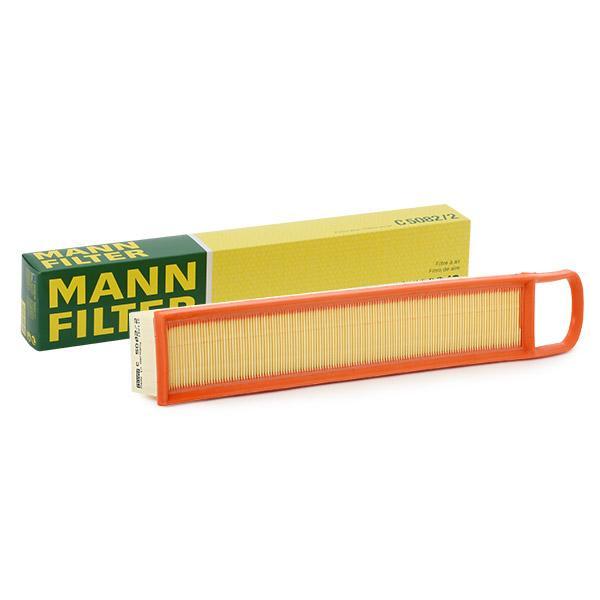 MANN-FILTER: Original Luftfiltereinsatz C 5082/2 (Länge: 495mm, Länge: 495mm, Breite: 85mm, Höhe: 56mm)