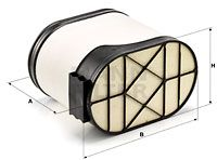 MANN-FILTER Air Filter for IVECO - item number: CP 33 540