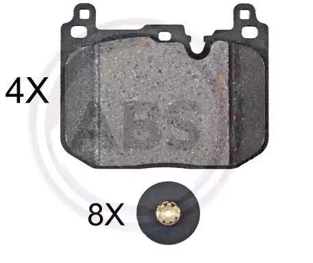 Original MINI Bremsbelagsatz 35117