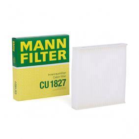 Filter, zrak notranjega prostora CU 1827 za FIAT SEDICI po znižani ceni - kupi zdaj!