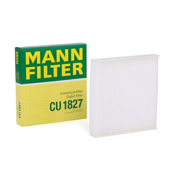 Iegādāties MANN-FILTER Filtrs, Salona telpas gaiss CU 1827 kravas auto