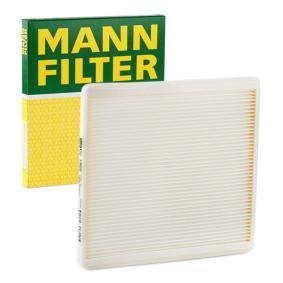 Innenraumfilter MANN FILTER CU 1828