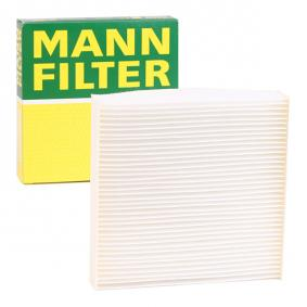 Compre e substitua Filtro, ar do habitáculo MANN-FILTER CU 1835