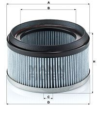 MANN-FILTER Filtr, wentylacja przestrzeni pasażerskiej do MERCEDES-BENZ - numer produktu: CU 1836