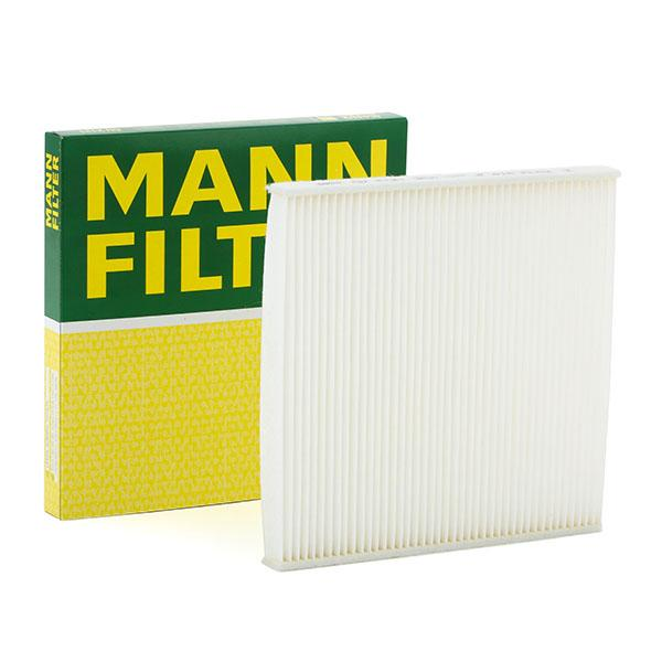 MANN-FILTER: Original Innenraumluftfilter CU 2131 (Breite: 218mm, Höhe: 17,5mm, Länge: 218mm)