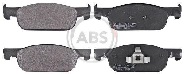35138 A.B.S. ohne integrierten Verschleißsensor Höhe 1: 49mm, Breite 1: 155mm, Dicke/Stärke 1: 16,9mm Bremsbelagsatz, Scheibenbremse 35138 günstig kaufen