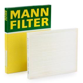 Kaufen Sie Filter, Innenraumluft CU 2243 FIAT DOBLO zum Tiefstpreis!