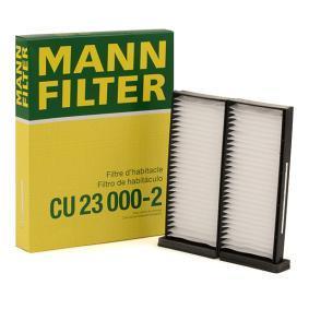 Filter vnútorného priestoru CU 23 000-2 CU 23 000-2 MITSUBISHI PAJERO III (V7_W, V6_W) — využite skvelú ponuku hneď!