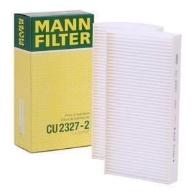 Filtr, wentylacja przestrzeni pasażerskiej CU 2327-2 w niskiej cenie — kupić teraz!