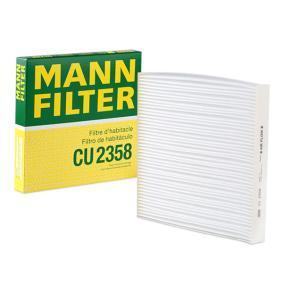 Filter, salongiõhk CU 2358 eest HONDA ACCORD VII (CL) — saage pakkumine nüüd!
