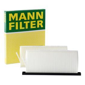 Günstige Filter, Innenraumluft mit Artikelnummer: CU 2418-2 OPEL MOVANO jetzt bestellen