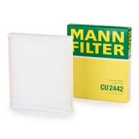 Filtro, aire habitáculo CU 2442 SAAB 9-5 a un precio bajo, ¡comprar ahora!